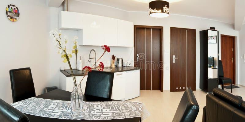 Luxurious modern apartment royalty free stock photos