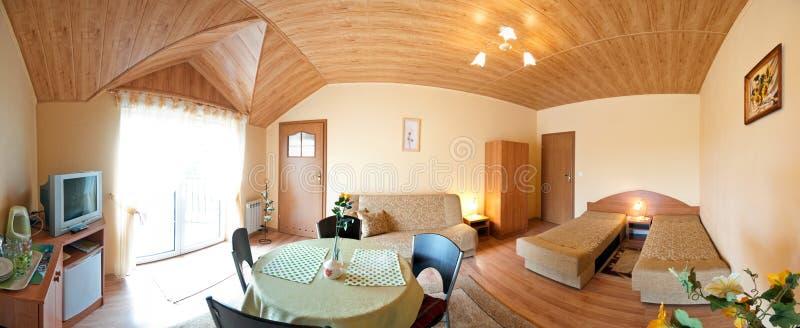 Luxurious Modern Bedroom Stock Photo