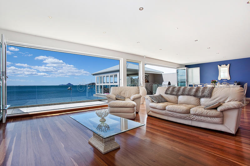 Luxurious modern living room royalty free stock photography