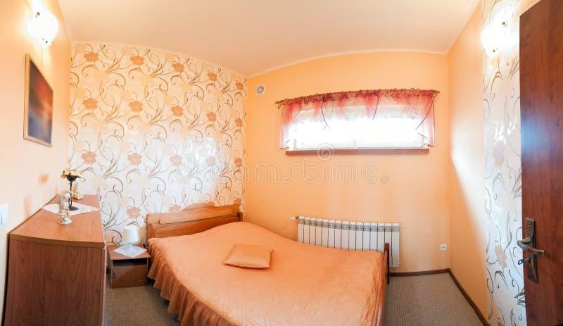 Download Luxurious orange bedroom stock photo. Image of inside - 20219174