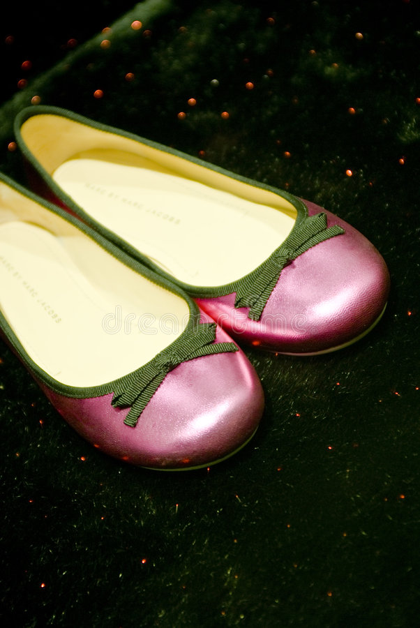 Download Luxurious pink shoes stock image. Image of style, sparkly - 4225173