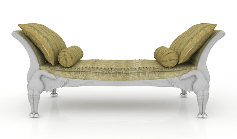 Download Luxurious sofa stock illustration. Image of leather, background - 19537667