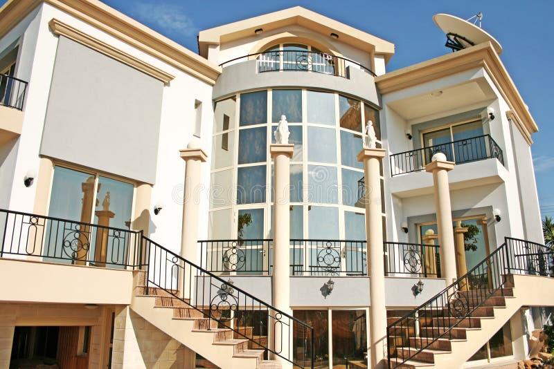 Luxurious villa stock images