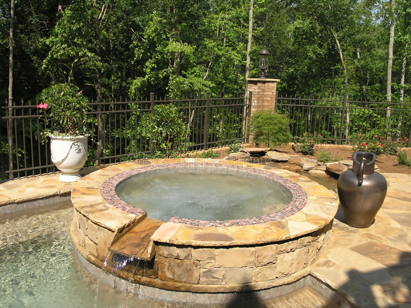 Luxury 1 - Pool 1 Royalty Free Stock Image