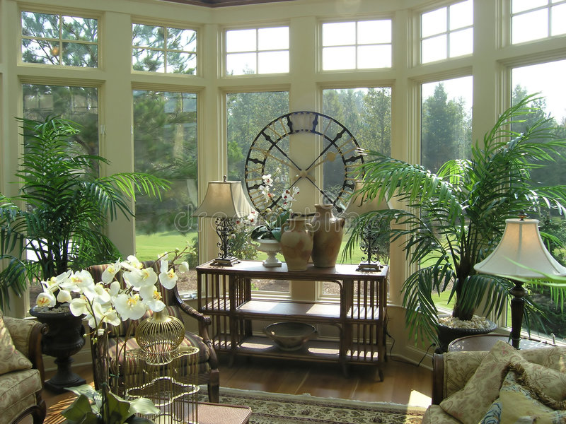 Download Luxury 32 sun room stock photo. Image of room, beautiful - 1618868