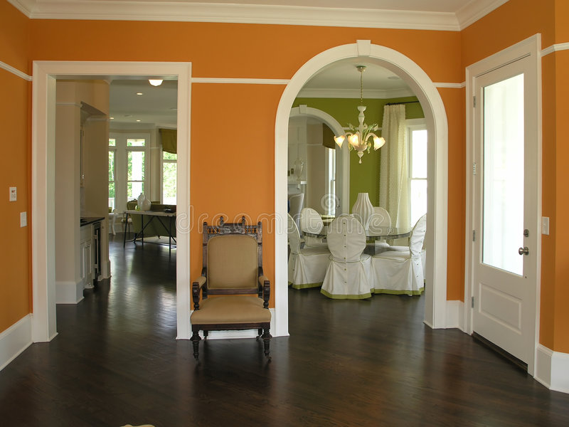 Luxury 4 - Interior Entrance 3 royalty free stock photos