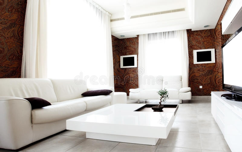 Luxury apartment royalty free stock photography