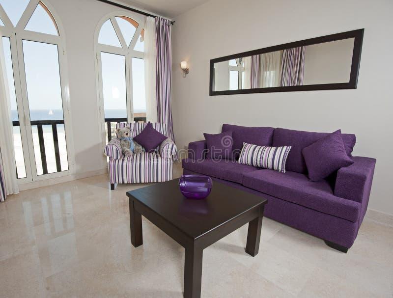 Luxury apartment interior design royalty free stock photos
