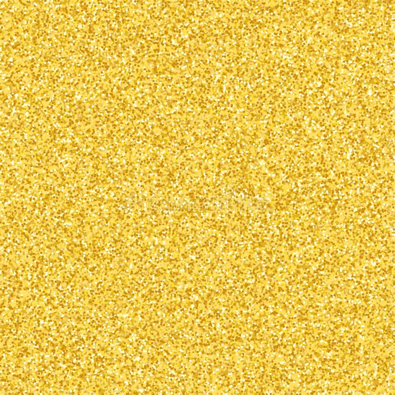 Luxury background of gold glitters. Gold dust sparkle. Gold texture for your design. Small golden confetti. The golden glow. Vecto stock images