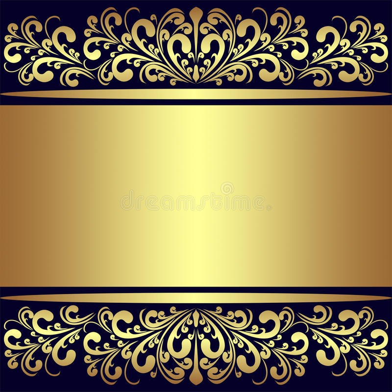 Luxury Background With Golden Royal Borders. Stock Vector ...