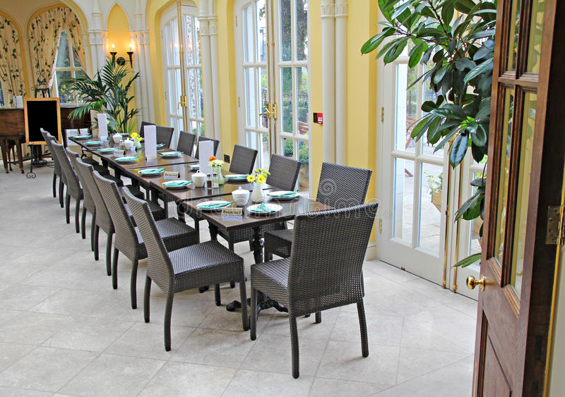 Download Luxury banqueting hall stock image. Image of coffee, dining - 26613405
