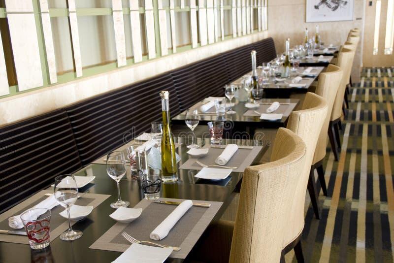 Luxury bar restaurant royalty free stock photos