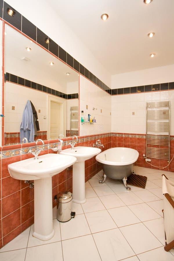 Download Luxury bathroom stock photo. Image of romantic, luxury - 19592702