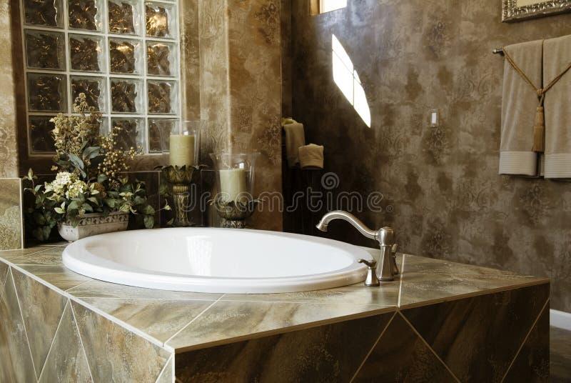Download Luxury Bathroom stock photo. Image of executive, brick - 1976758