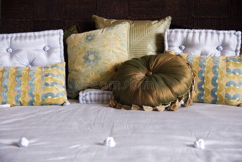 Luxury Bedding stock photography