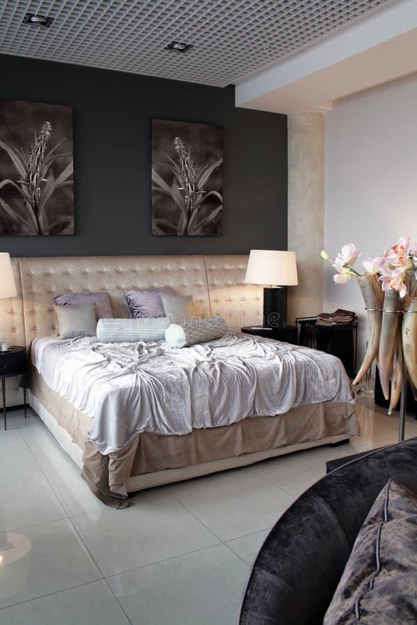 Luxury bedroom royalty free stock photos