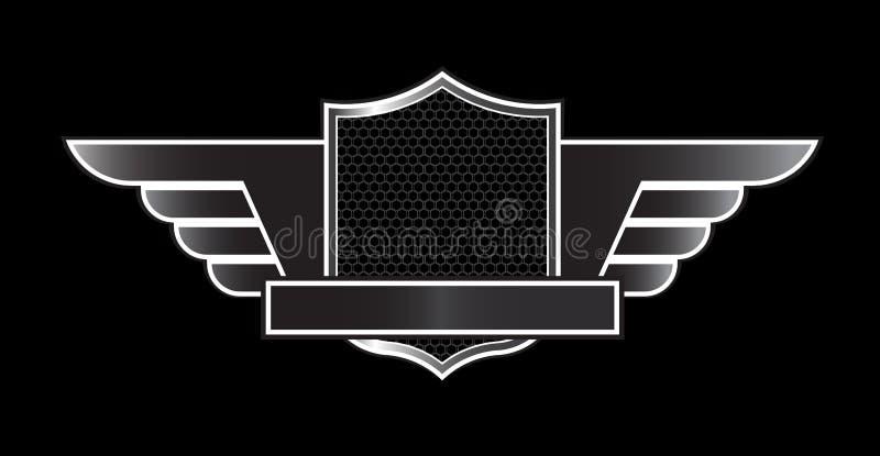 Luxury black emblem
