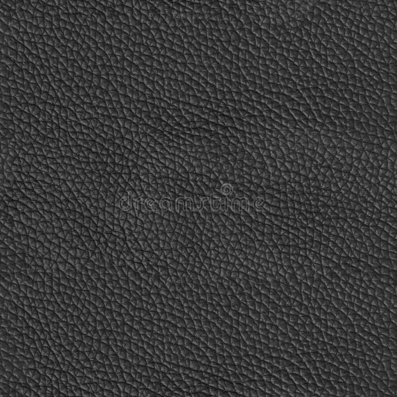 Luxury black leather texture. Seamless square background, tile r. Eady. High resolution photo royalty free stock images