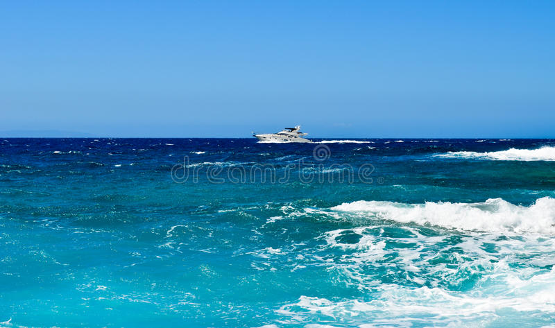 Luxury boat royalty free stock images