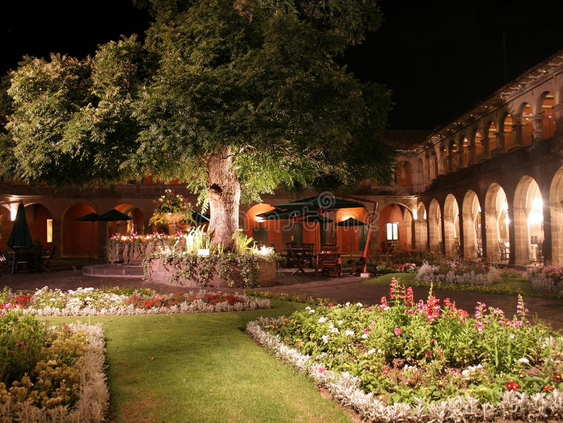 Luxury Boutique Hotel, Cusco, Peru Royalty Free Stock Photos