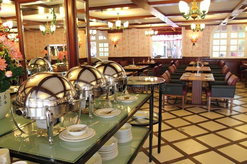 Luxury Buffet Restaurant royalty free stock photography