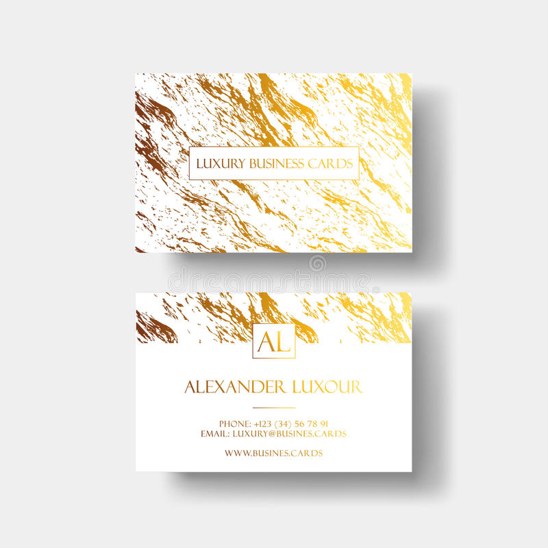 Luxury business cards vector template banner and cover with marble download luxury business cards vector template banner and cover with marble texture and golden foil reheart Gallery