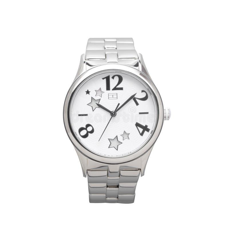 Luxury business wristwatch royalty free stock photo