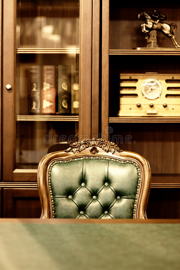 Luxury cabinet design. Picture of a Luxury cabinet design stock photo