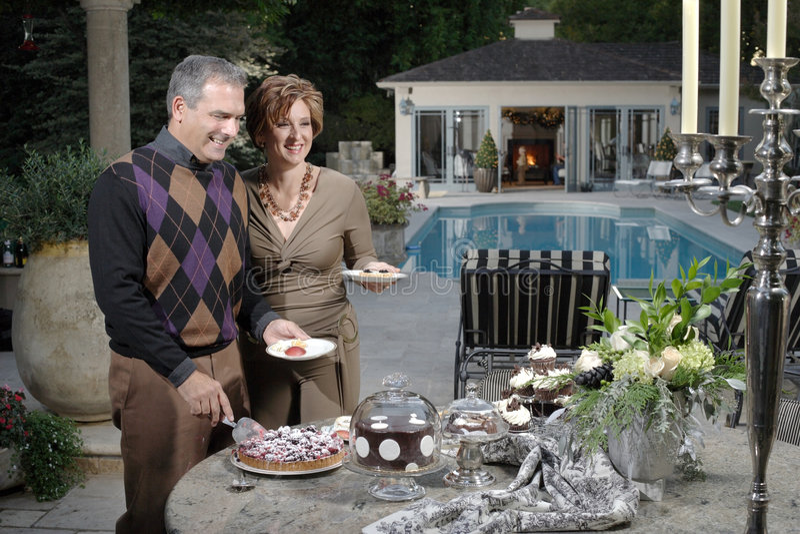 Luxury California Holiday royalty free stock images