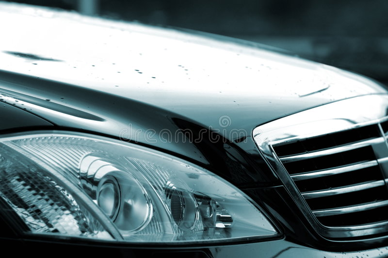Luxury car stock photos