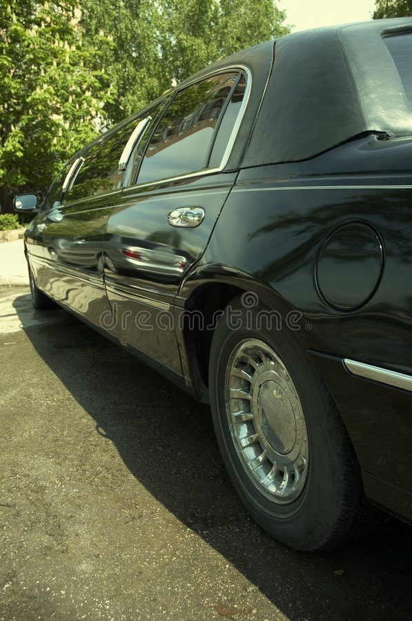 Luxury car stock image