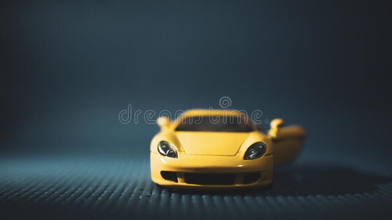 Luxury car concept in India growing popular. Porsche makes one of the top selling models among any other automobile company in the world. This two door coupe is stock photography