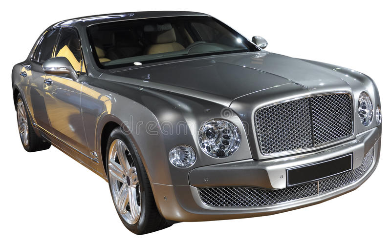 Download Luxury car isolated stock image. Image of gray, style - 18787629