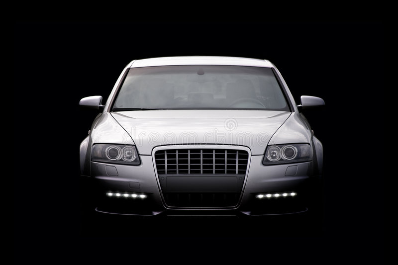 Download Luxury car isolated stock image. Image of design, headlight - 6108781