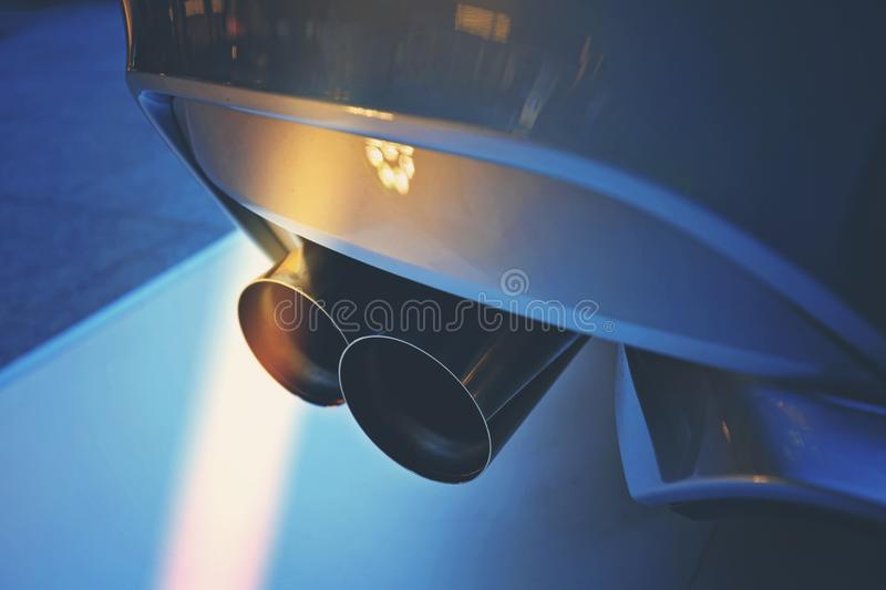 Luxury car show royalty free stock photography