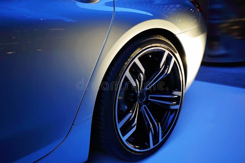 Luxury car show stock photos