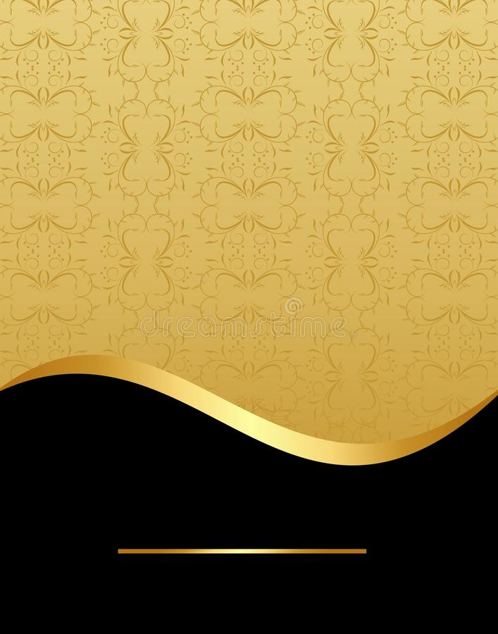Download Luxury card or invitation stock vector. Illustration of banner - 14045954