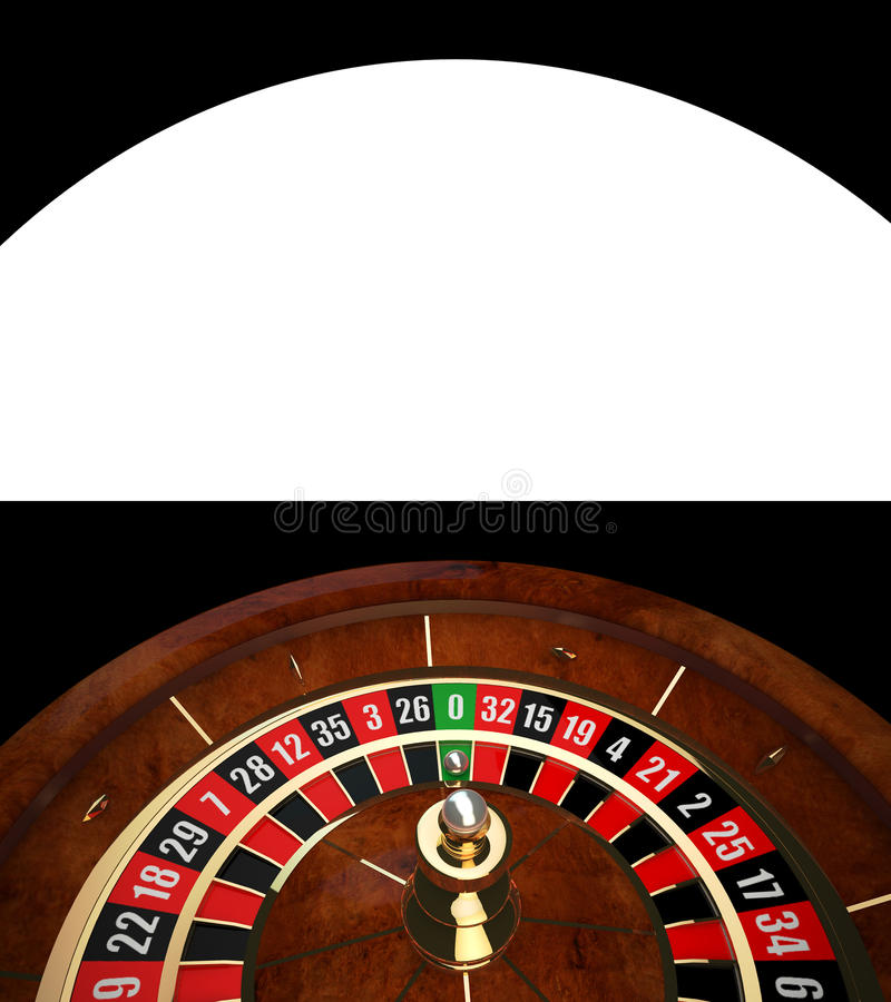 Luxury Casino Roulette. With Alpha Channel vector illustration