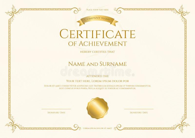 Certificate Template Border Solan Annafora Co
