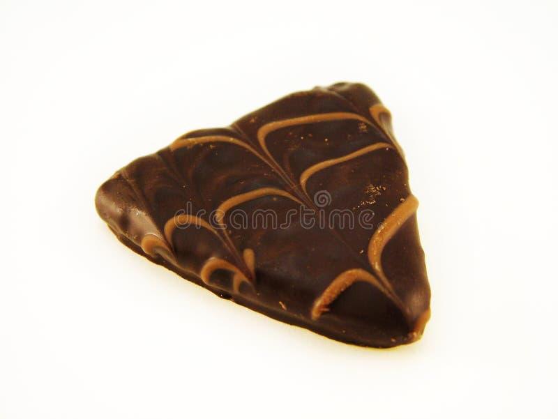 Luxury chocolate on white stock photos
