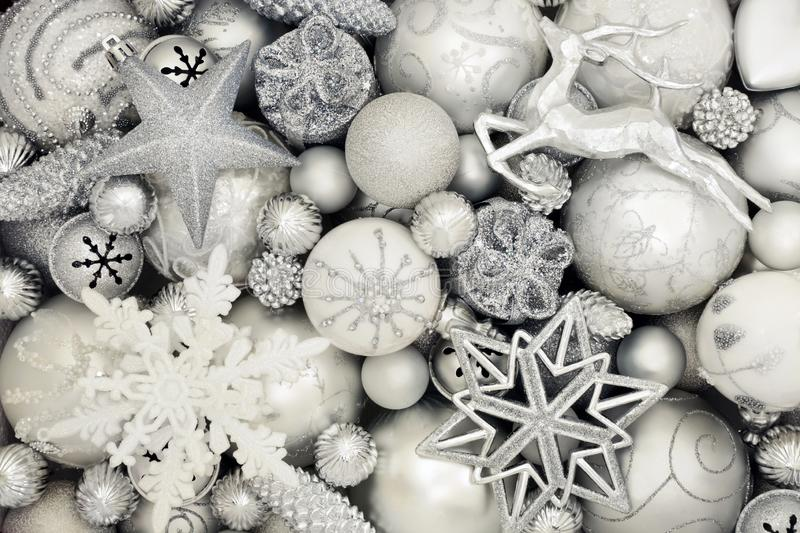 Luxury Christmas Bauble Decorations stock image