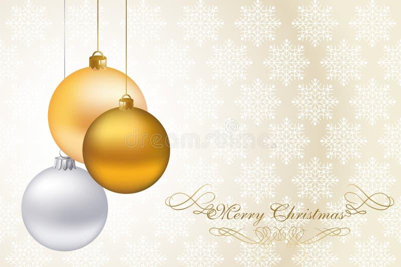 Luxury Christmas Card Stock Photo