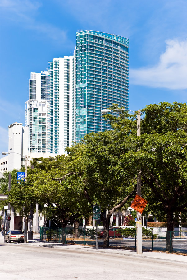 Download Luxury Condominium-buildings In Miami Stock Photo - Image: 7581530