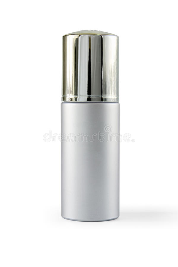 Luxury cosmetic container royalty free stock photos