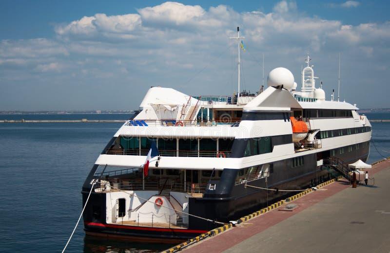 A Luxury Cruise Ship Stock Photography