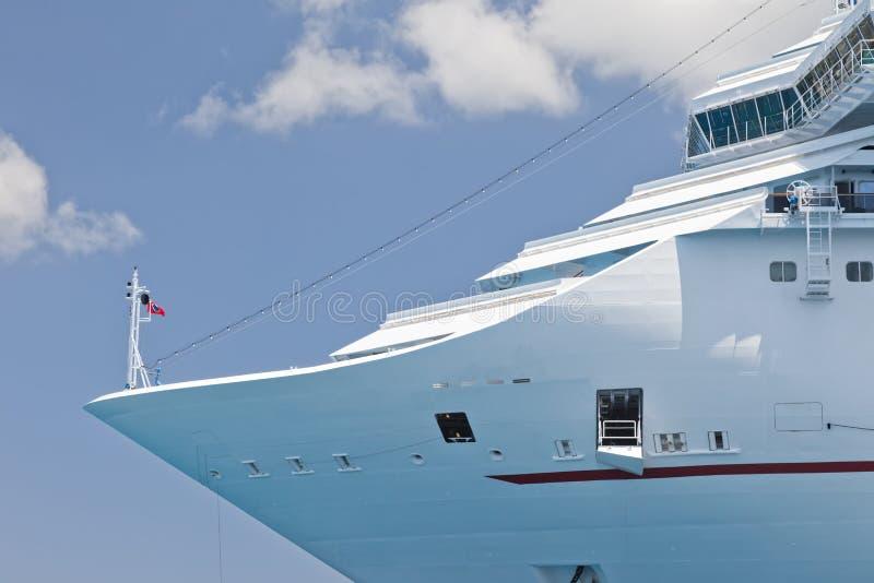 Luxury Cruise Ship stock photography