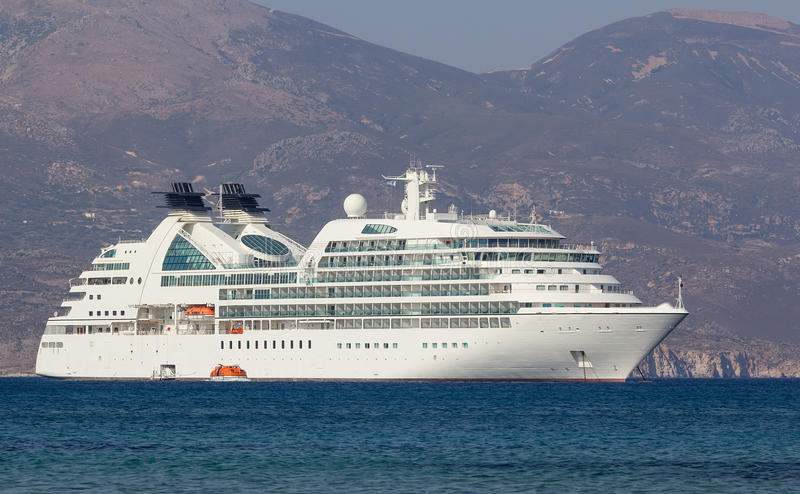 Download Luxury cruise ship stock photo. Image of ocean, port - 26272284