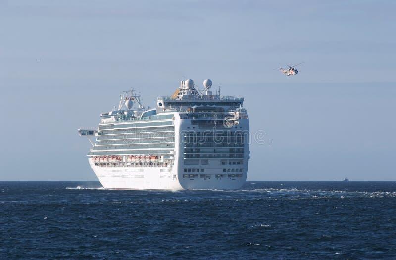 Download Luxury cruise ship sailing stock photo. Image of sail - 33082720
