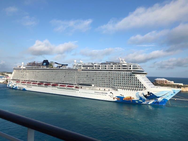 Cruise Ship. stock image