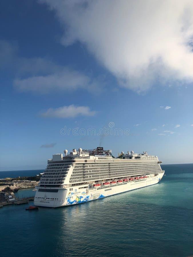 Cruise Ship. stock photo
